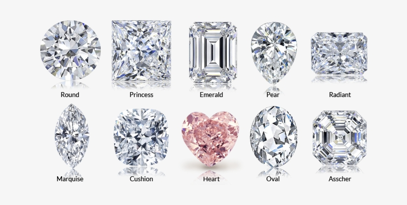 Diamonds Come In Many Different Shapes - Diamond Princess Cut Pendant, transparent png #74835