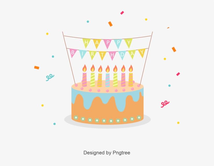 Cute Birthday Cake Logo Happy Children S Day Child Cake