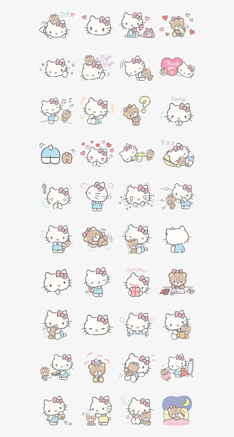 Hello Kitty Et Friends Wallpaper Hello Kitty Free