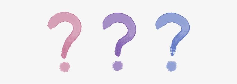 Picture Of Question Marks - Watercolour Question Mark Transparent, transparent png #75964