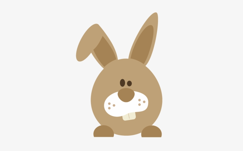 Easter Bunny Png Free - Easter Bunny Peeking Png, transparent png #76077