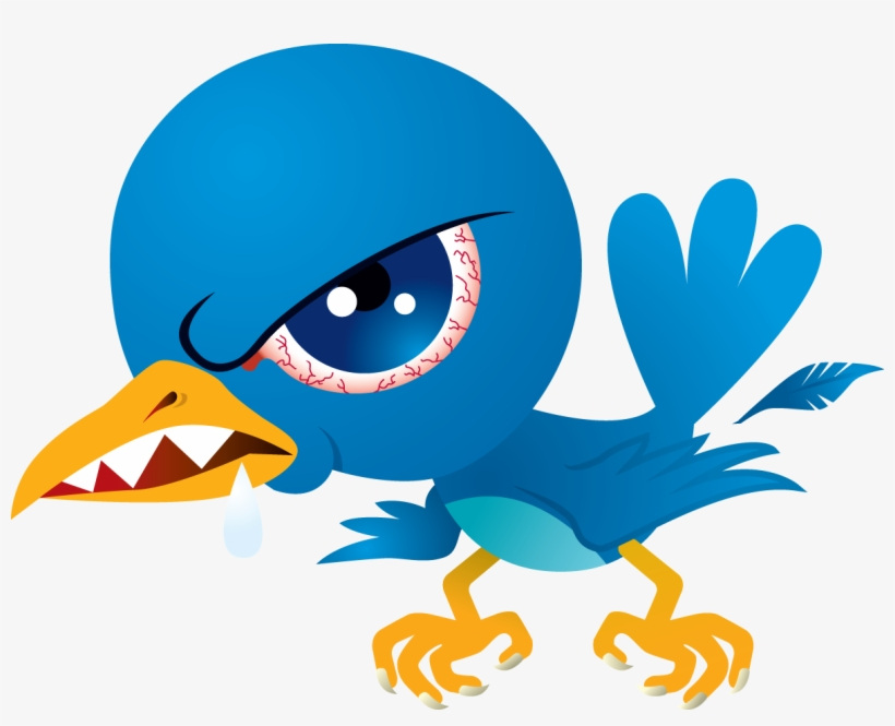I Will Give You Bulgaria 510 Twitter Followers - Mean Twitter Bird, transparent png #76270