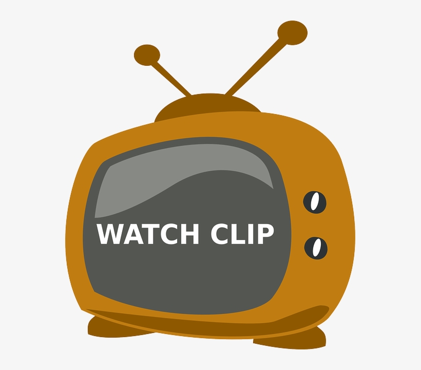Tv, Watch, Television, Clip, Old, Antenna - Tv Logo Clipart, transparent png #76362
