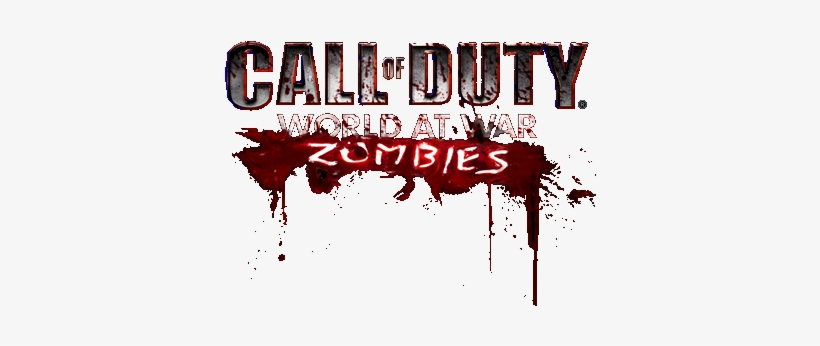 Svg Freeuse Download Call Of Duty Png For Free - Call Of Duty World At War Zombies Logo, transparent png #76632
