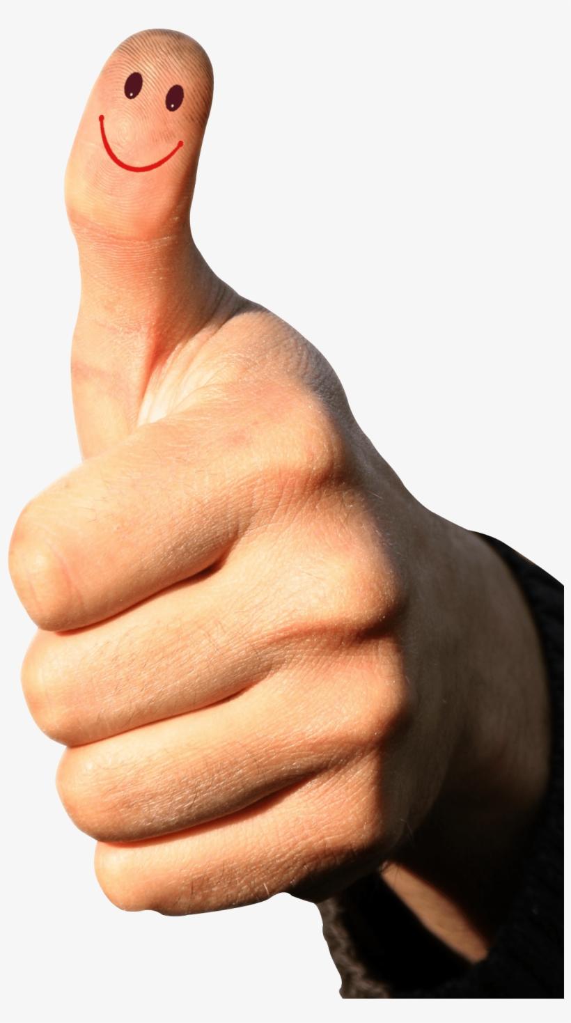 Thumbs Up Png Transparent Image - Transparent Background Thumb Up Png, transparent png #77116