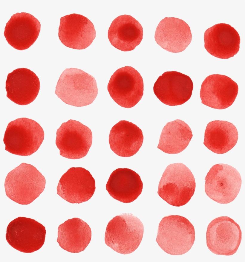 Free Download - Transparent Watercolor Dots Png, transparent png #77687