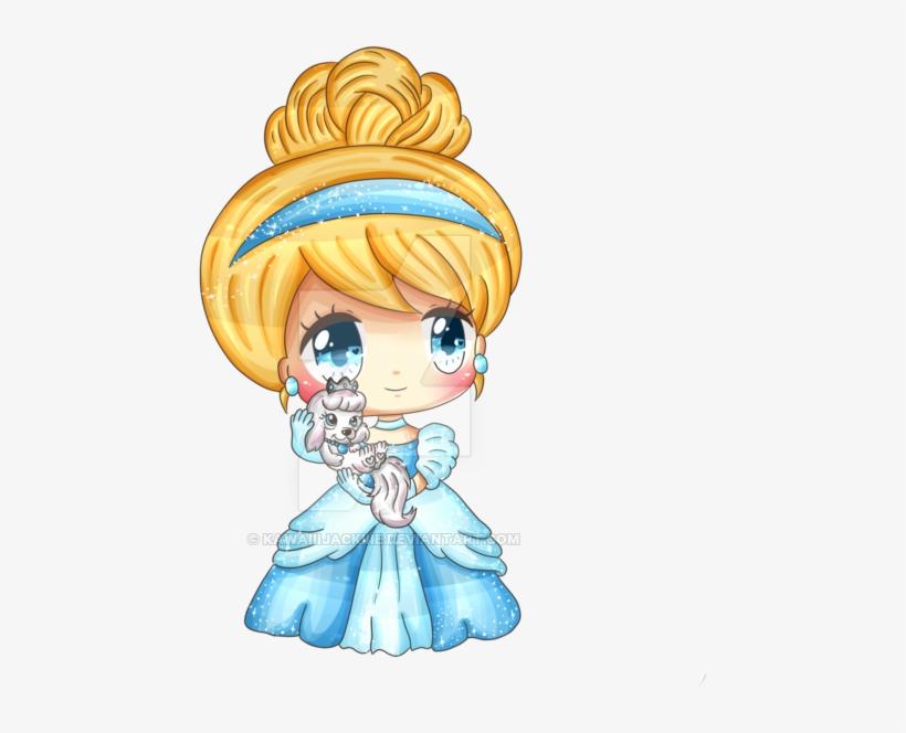 Cinderella And Pumpkin By Kawaiiijackiiie On Deviantart - Cinderella Chibi, transparent png #77735