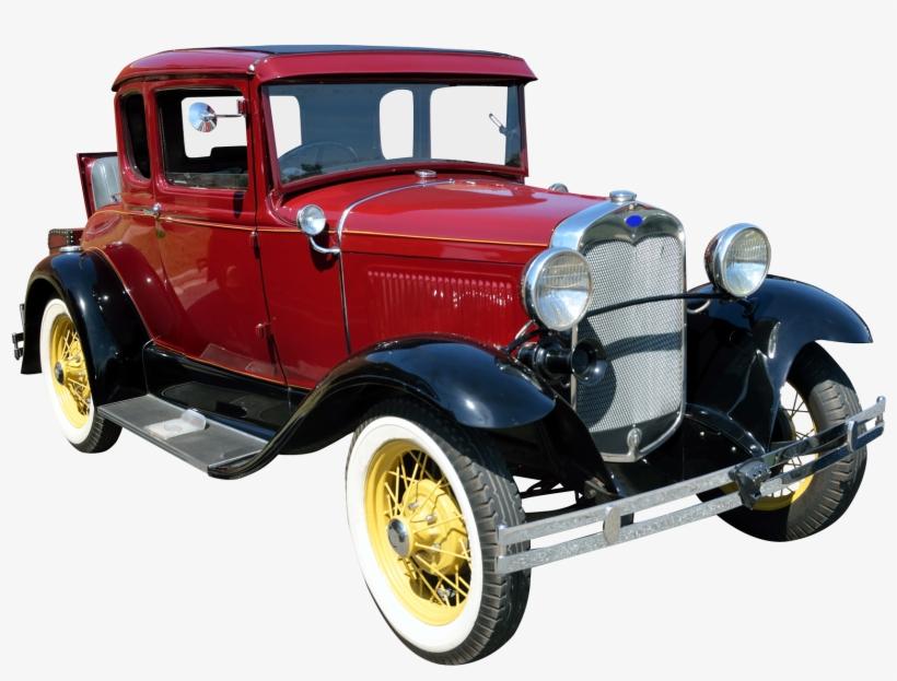 Vintage Car Png Transparent Image - Vintage Cars Transparent Background, transparent png #78055