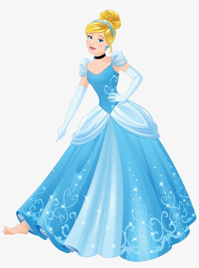 Disney Princess Characters, Disney Princess Cinderella, - Disney Princess Cinderella, transparent png #78651