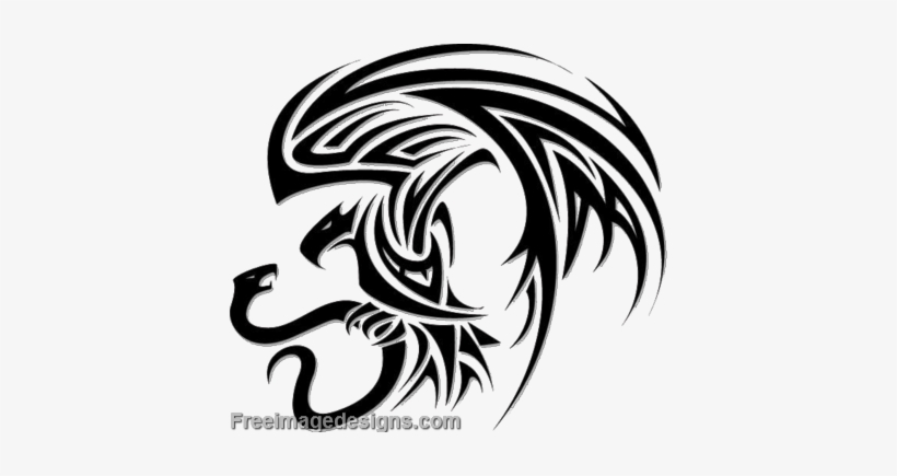 Aztec Eagle And Snake Image Design From The Collection - Eagle Snake Tattoo Tribal, transparent png #700604