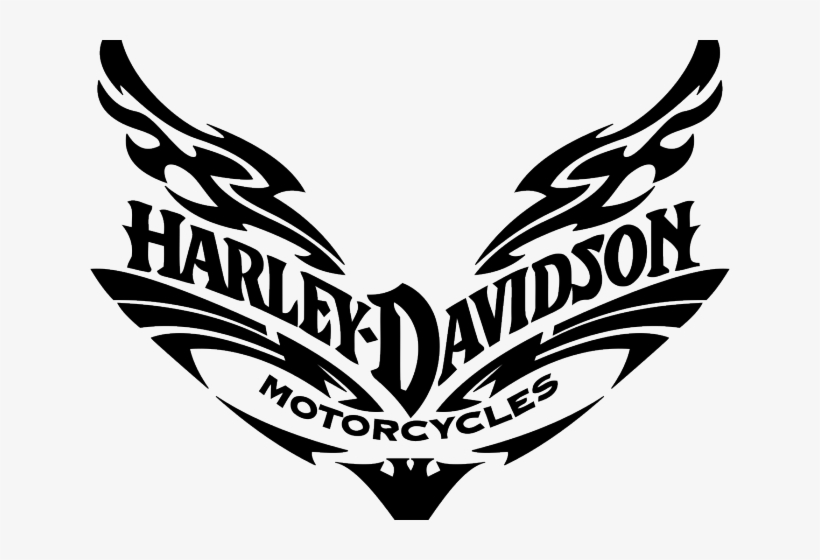 Free On Dumielauxepices Net Stencil - Silhouette Harley Davidson Svg, transparent png #701057