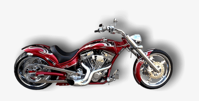 Custom Motorcycle Png - Harley Davidson Custom Png, transparent png #701359