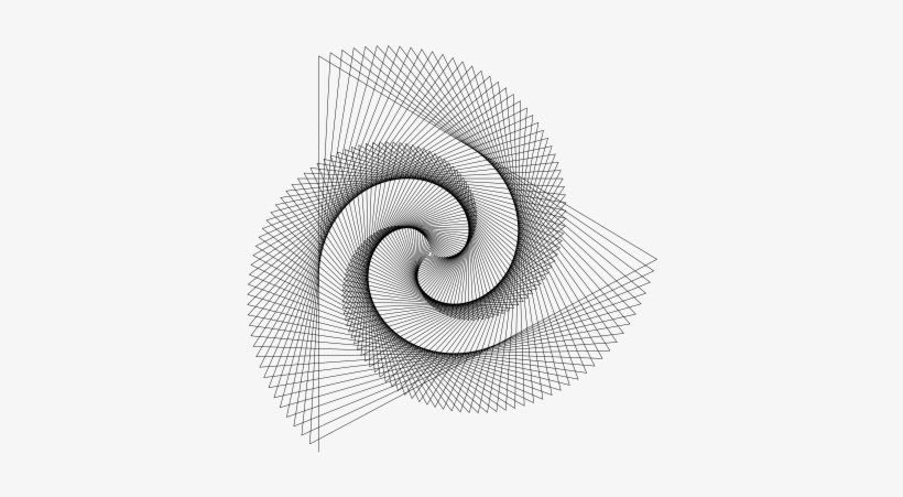 Spirographs In Python Svg Png - Turtle Graphics - Free