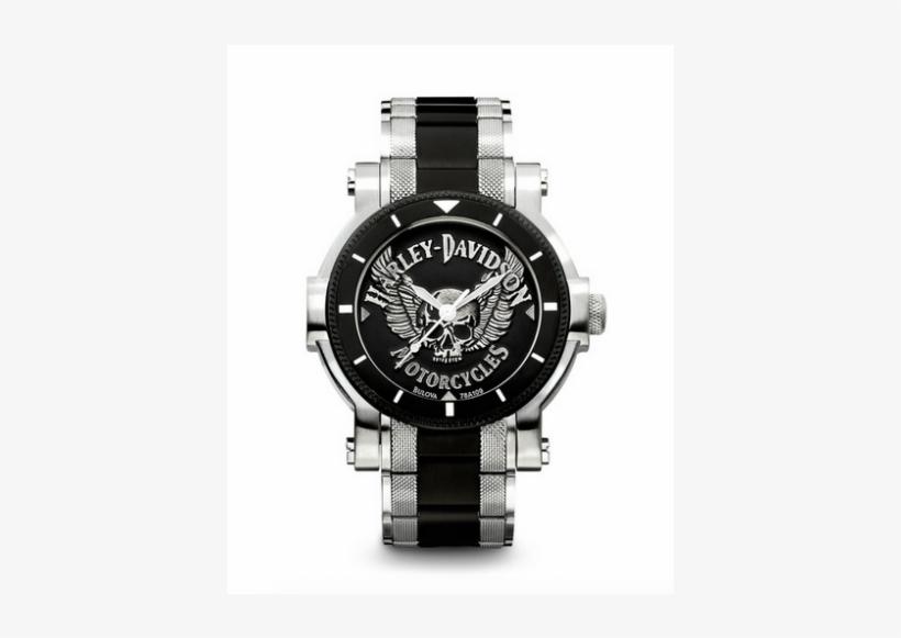 Bulova Harley-davidson 78a109 - Bulova Harley Davidson 78a109, transparent png #702074