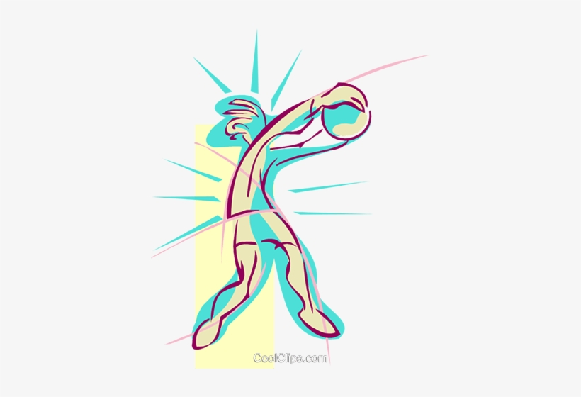 Volleyball Player Royalty Free Vector Clip Art Illustration - Illustration, transparent png #702404