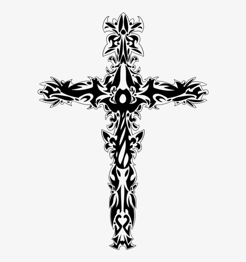 Cross Tattoo Transparent: Top 23 Cross Tattoo Design Weneedfun Upside Down Cross