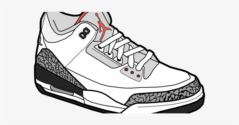Air Jordan Shoe Drawings Air Jordan Sneaker Clipart Jordans Shoes