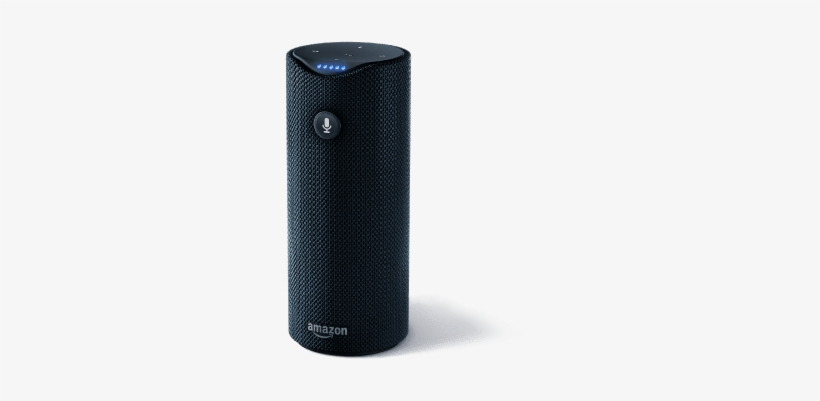 It Has Great Sound Quality And It Packs All Of The - Amazon Tap Portable Smart Assistant Wireless Speaker, transparent png #704848