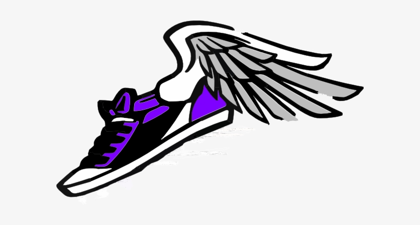 28 Collection Of Running Shoe Clipart Png Track Shoe Clipart