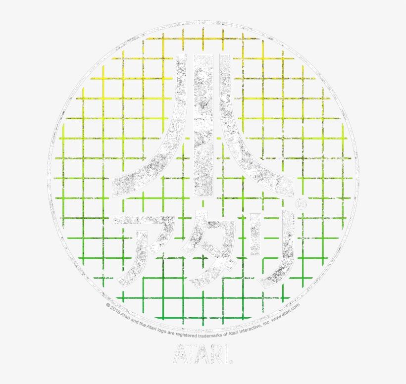 Atari Japanese Grid Pullover Hoodie - Circle, transparent png #705828