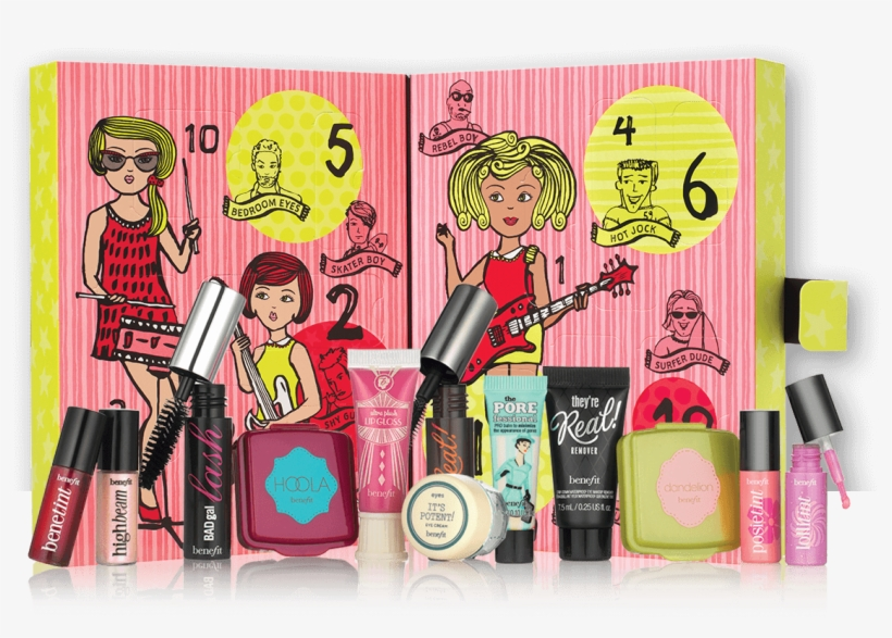 2016 Beauty Advent Calendars Benefit Girl Oclock Rock - Benefit 'girl O'clock Rock' Debenhams Exclusive Gift, transparent png #706009