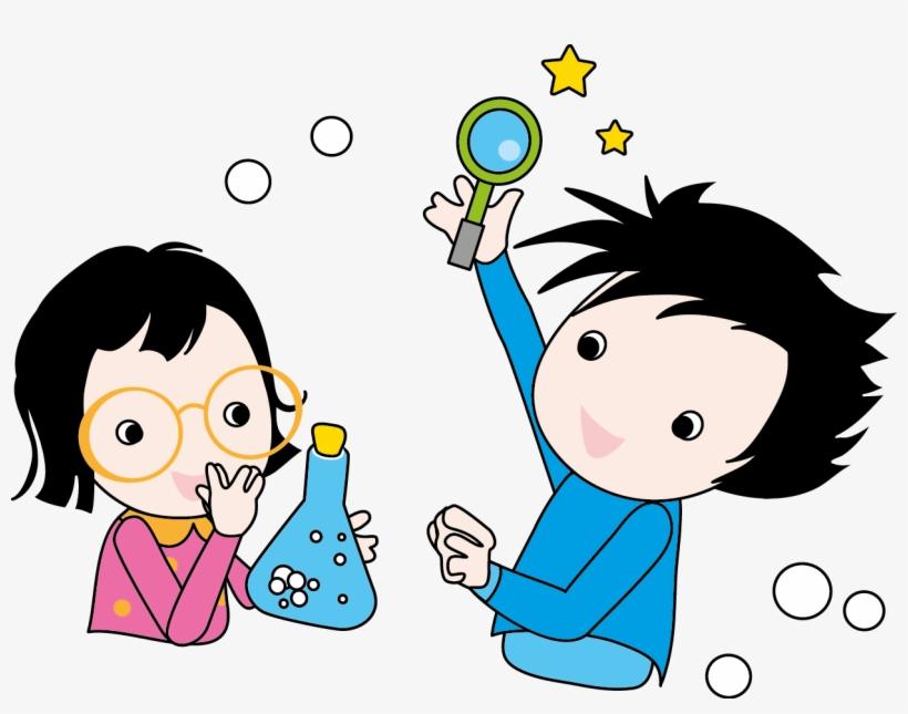 Mad Scientist Cute Digital Clipart - Cartoon Science Kids, transparent png #706200