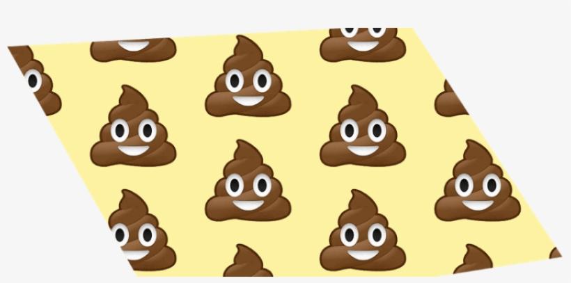 Kids, Why You So Mad At Poop - Smiling Poop Emoji Jumbo Tote Bag, Adult Unisex, Natural, transparent png #706338