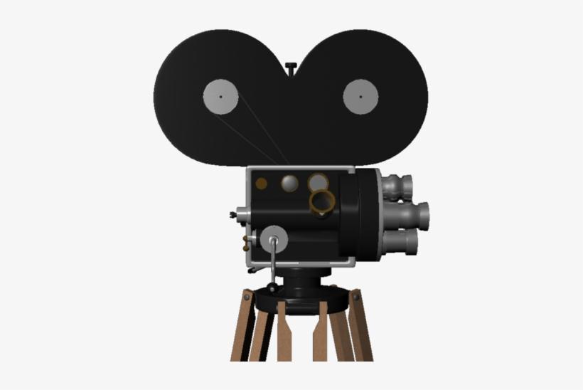 Old Film Camera - Video Camera, transparent png #707095