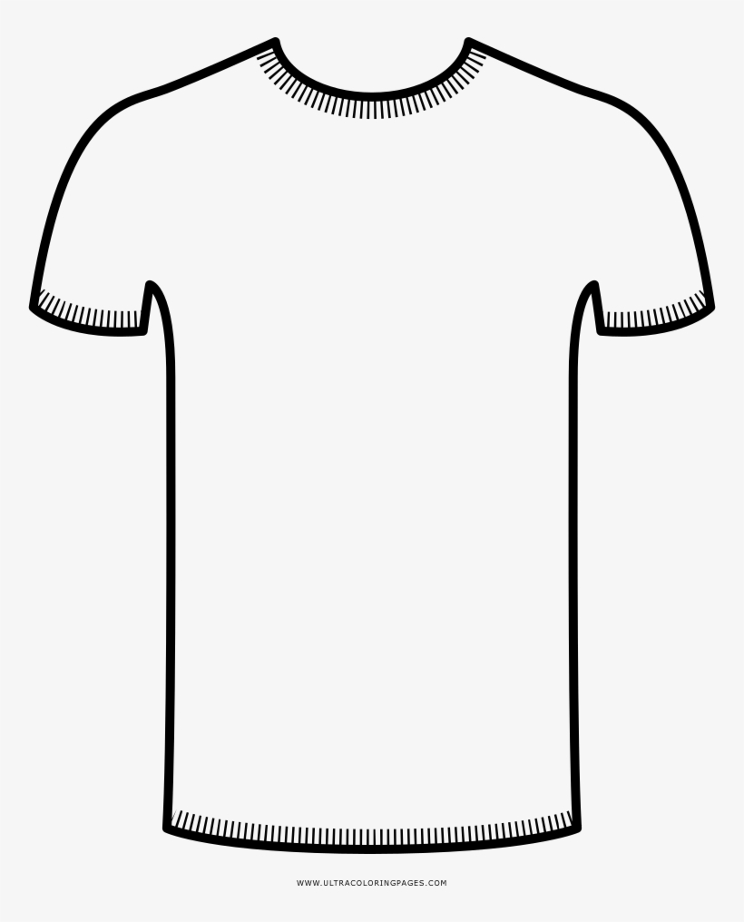T Shirt Coloring Page Ultra Pages And V Neck Shirt Icon Free Transparent Png Download Pngkey