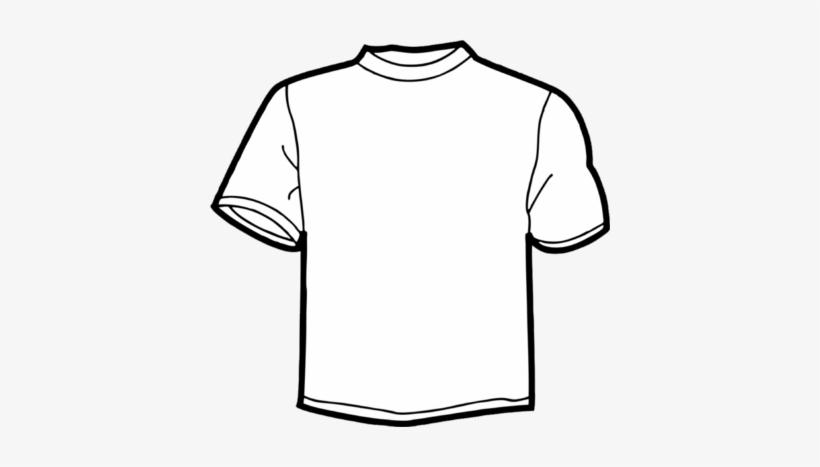 Blank White T Shirt Png Psd Detail - T Shirt, transparent png #707282