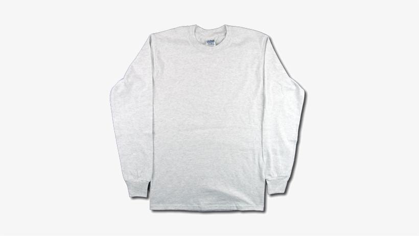 Gildan Long Sleeve Blank - Free Transparent PNG Download - PNGkey