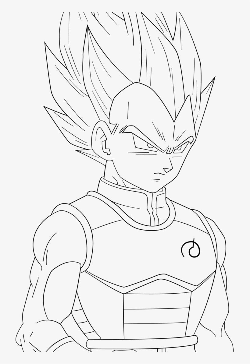 Goku And Vegeta Drawing At Getdrawings Vegeta Super Saiyan