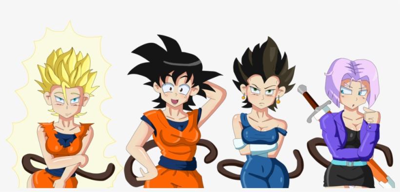 Spectacular Rule 63 Goku Dragon Ball Z Cosplay Geektyrant - Dragon Ball Z Tg, transparent png #707651