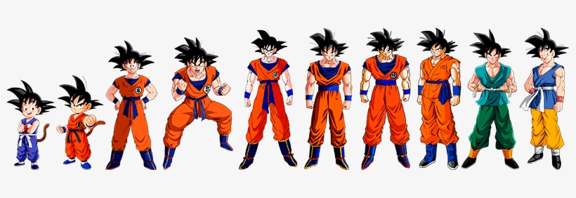 Dragon Ball Games Online - Dragon Ball Goku Evolution, transparent png #708142