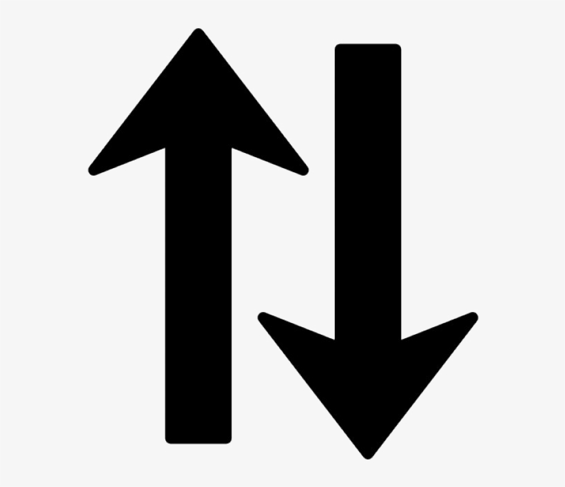 Sort Arrow Png High Quality Image - Arrow Pointing Up And Down, transparent png #708222