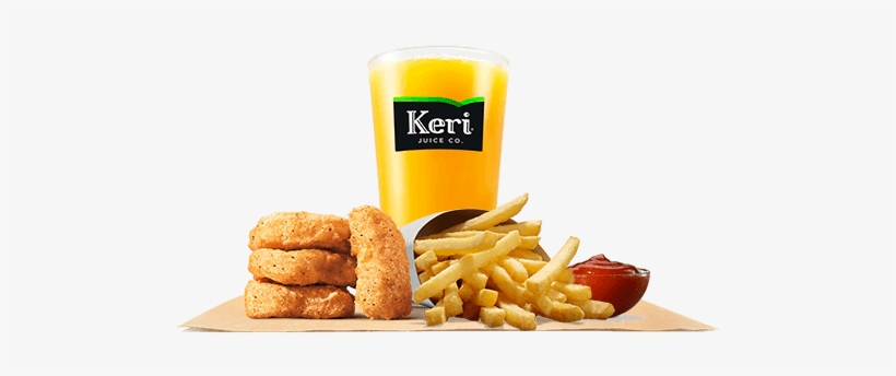 Made With Premium White Meat Chicken, Our Chicken Nuggets - Burger King Kids Meal, transparent png #708589