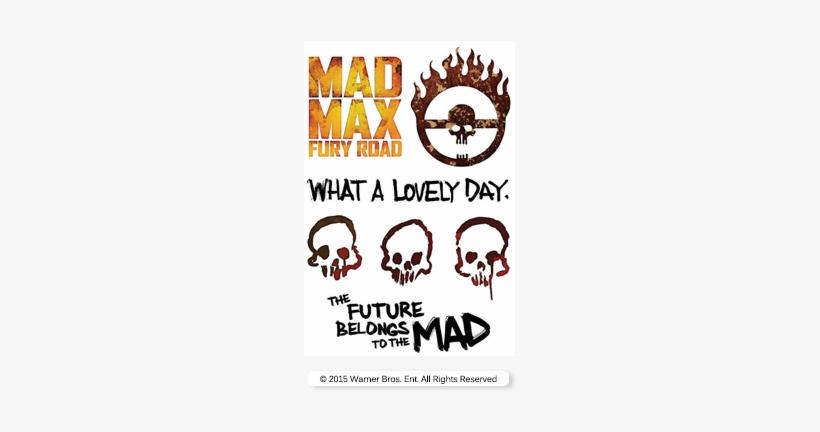 Watch Mad Max - Fury Road Tatuagem Mad Max, transparent png #708764