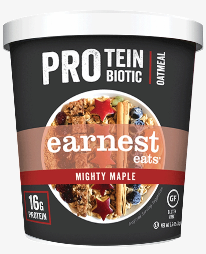 High Performance Breakfast - Earnest Eats Protein Probiotic Oatmeal, transparent png #709646