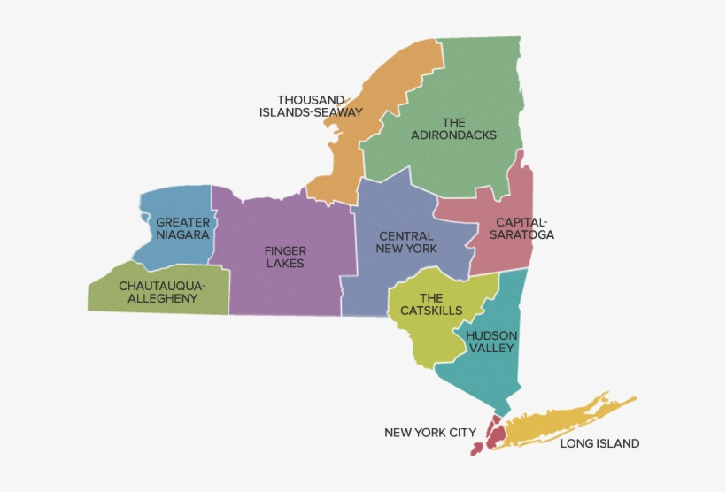 City Map Of New York State.Regions Of New York State New York Regions Map Free Transparent