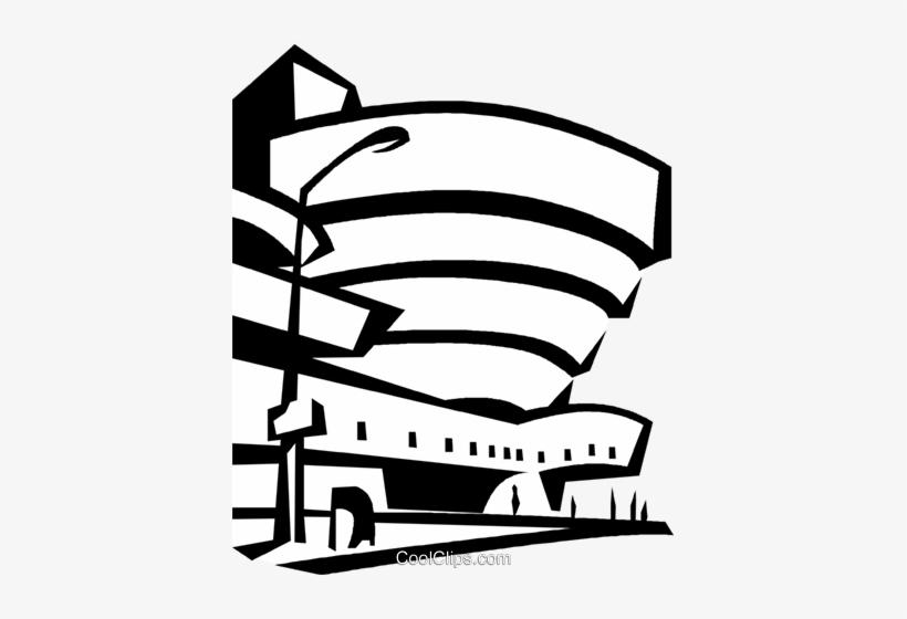 Guggenheim Museum New York City Royalty Free Vector - Guggenheim New York Png, transparent png #710083