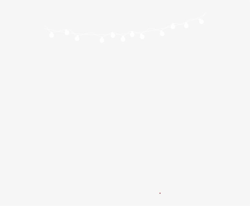 White Christmas Lights Clip Art At Clker - .com, transparent png #710335