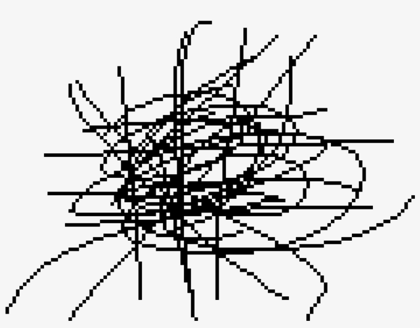 Scribble By Anonymous - Drawing, transparent png #711205