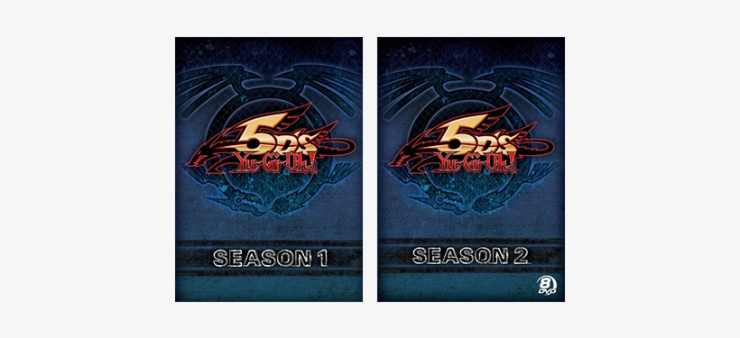 Yu Gi Oh 5d's Is Available On Dvd As Individual Seasons - Yu Gi Oh 5d's, transparent png #713631