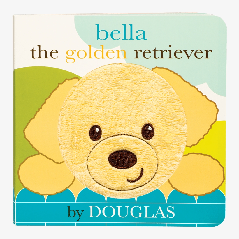 Bella The Golden Retriever Book - Golden Retriever Board Book, transparent png #713754