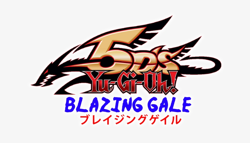 Yu Gi Oh 5ds Blazing Gale - Yu Gi Oh 5ds Logo Png, transparent png #713963