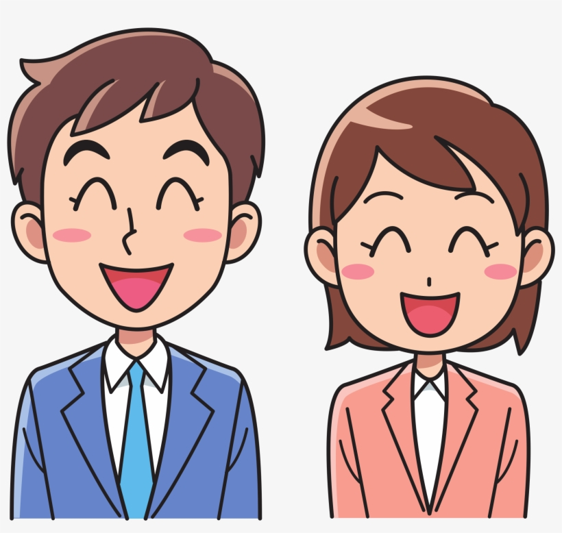 Jpg Royalty Free Stock Business Man And Woman Big Image - Clipart Man And Woman, transparent png #715689