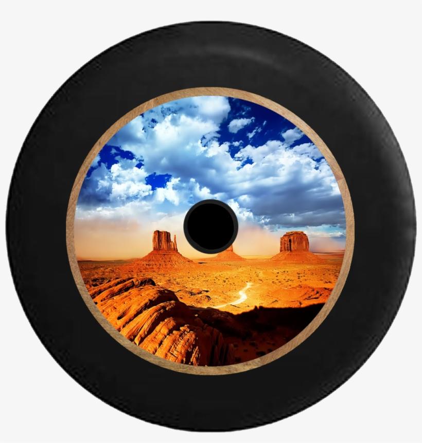 Jeep Wrangler Jl Backup Camera Desert Plateau Blue - Monument Valley, transparent png #719745