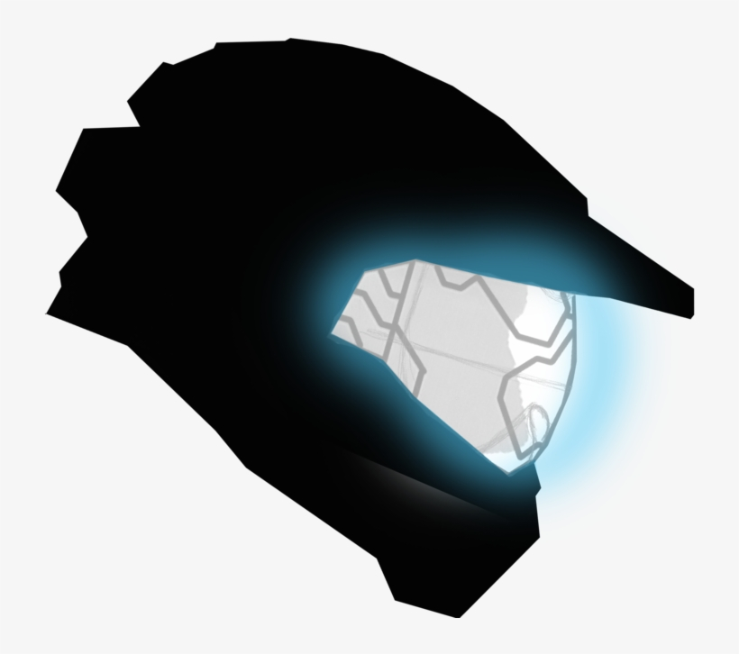 Master Chief Silhouette At Getdrawings Free Transparent