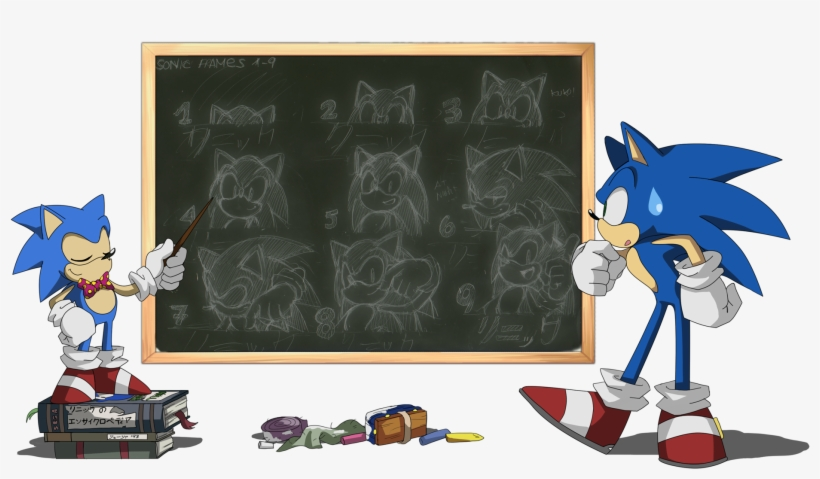 Sonic The Hedgehog Images Sonikku Th Hd Wallpaper And Free Transparent Png Download Pngkey