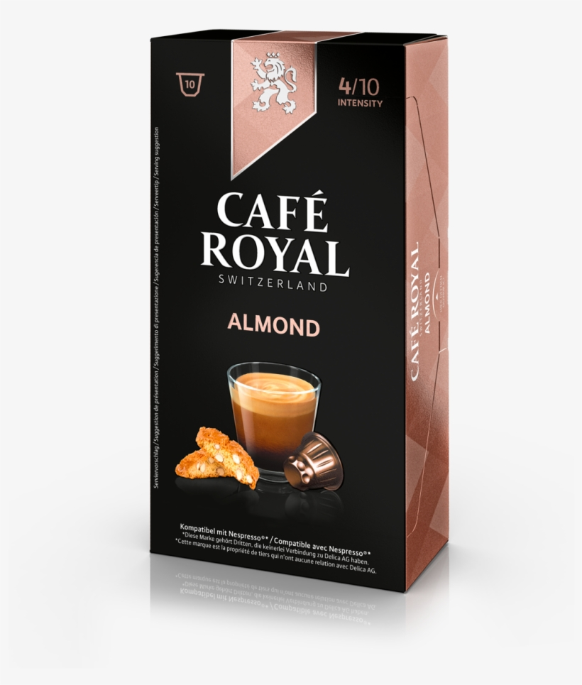 Cafe Royal Mandel Flavoured Kaffee Kapseln Nespresso Free